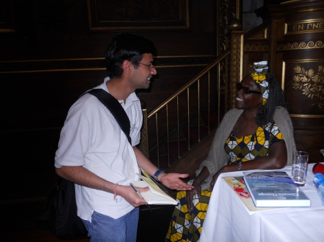 With Wangari Maathai in the event