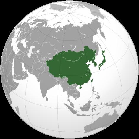 East Asia((UN Statistics Division subregion)