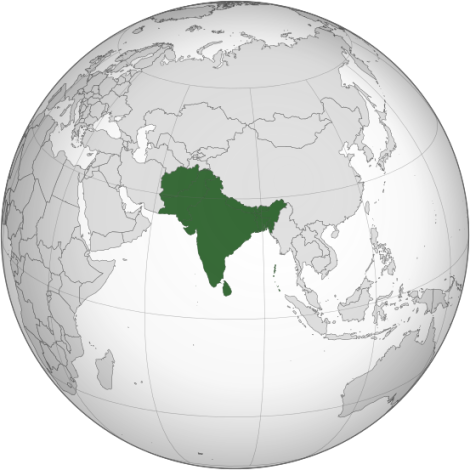 South Asia((UN Statistics Division subregion)